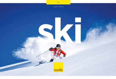 Savills Ski Advert