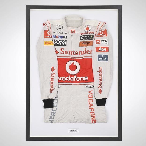 Lewis Hamilton race-worn suit